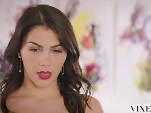 Wicked one Hot Valentina Nappi seduces her spoken for boss